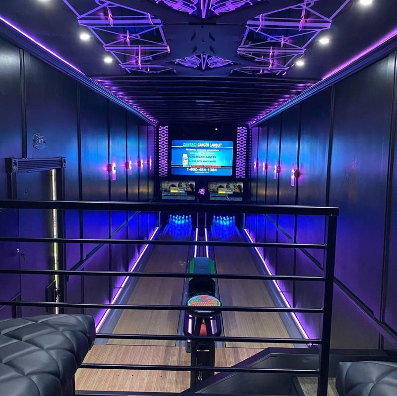 Man Comes Up with World's First-Ever Mobile Bowling Alley