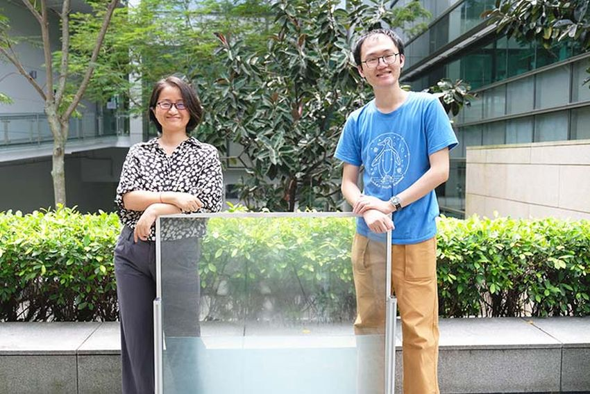 NTU Researchers Develop Energy-Saving, Liquid Window Panels