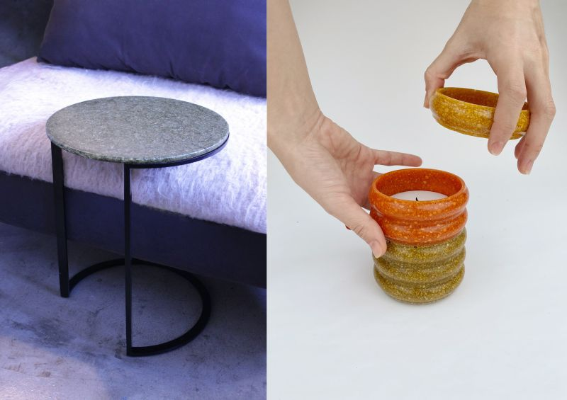 Ottan Studio Upcycles Organic Food Waste into Homeware Products