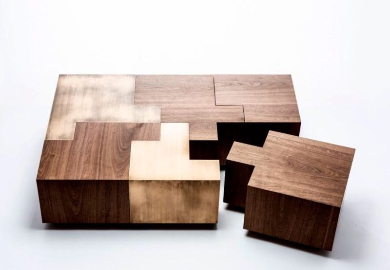Puzzle Table by Atelier Gulla Jónsdóttir Will Fit into Any Home