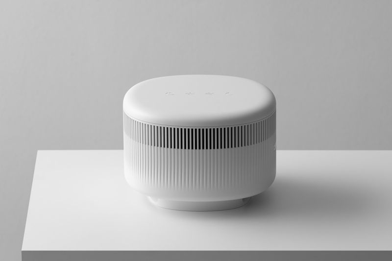 SWNA Designs Simple and Stylish Tabletop Air Purifier for JAJU
