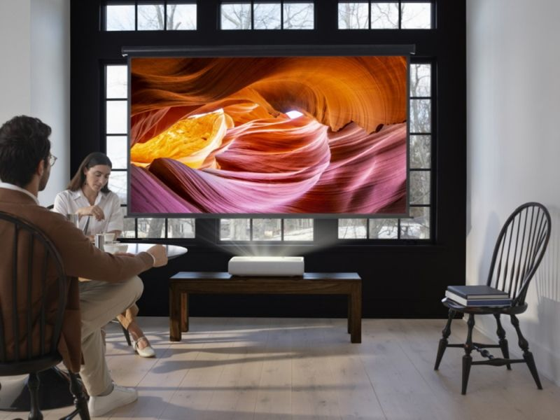 Samsung's New The Premiere 4K Laser Projector is Available Now