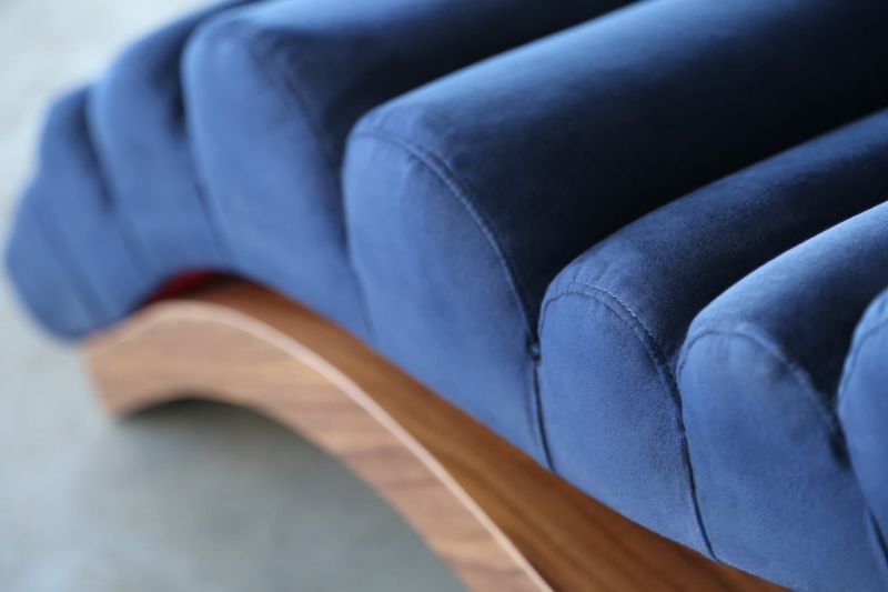 Wave Chaise Lounge by SENTIENT Furniture will Add Luxury to any Home Decor
