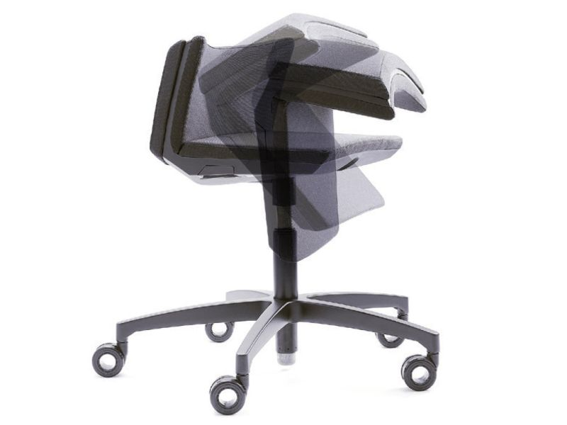 mykinema Active Chair Turns into Back Support in Standing Position