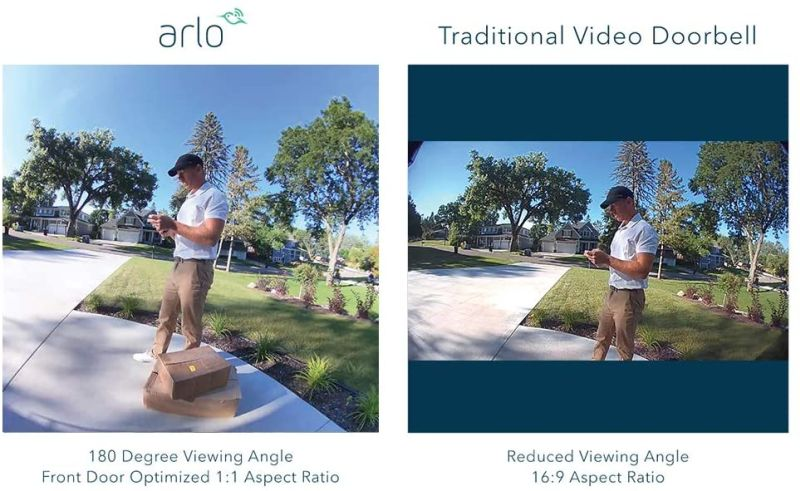 Arlo Essential Wire-Free Smart Video Doorbell is Now Available