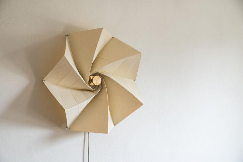 Bloom Wall Lamp by George Barratt-Jones is Much Like a Flower