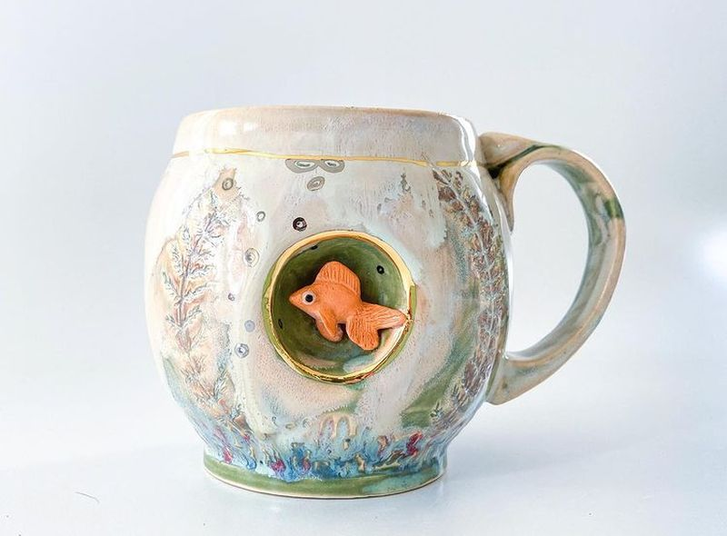 Check out Artistic Coffee Mugs by Brook Knippa of AP Curiosities