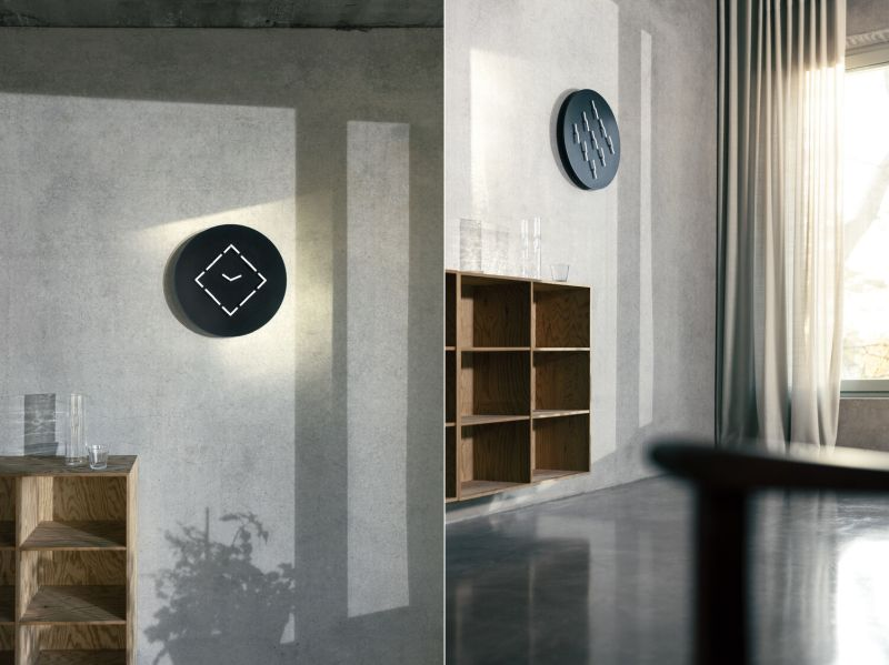 ClockClock 9 by Humans since 1982 is Wall Clock and Artwork