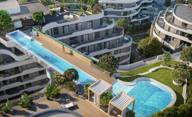 Hickory Group Builds Sky Pool at Hawthorn Park