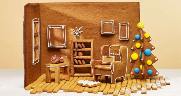 IKEA Launches Gingerbread Höme Kit to Make Edible Versions of Its Iconic Furniture