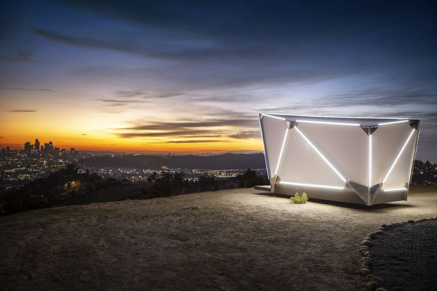 Jupe Unveils Flat-pack Prefab Shelter that can be Placed Anywhere