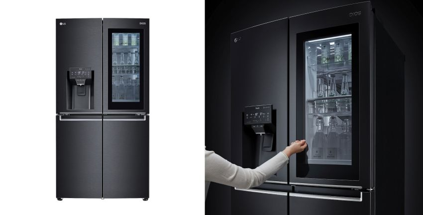 LG to Launch New InstaView Door-in-Door refrigerators at CES 2021