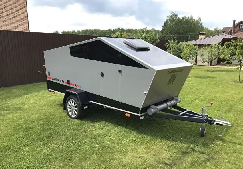 LandTraveler Camping Trailer is Perfect Companion to Tesla's Cybertruck