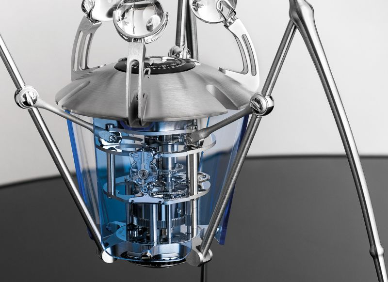 MB&F and L'Epée 1839 Collaborates for T-Rex-Shaped Timepiece