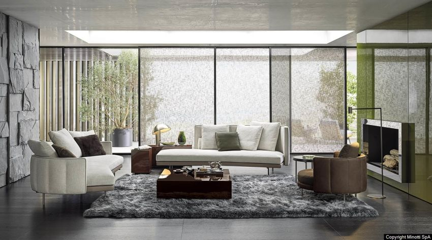 Nendo Designs Torii Furniture Collection for Minotti