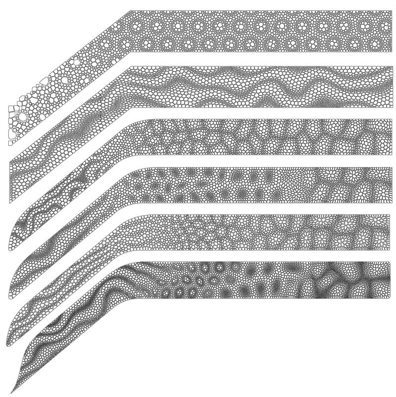 Nervous System Creates COROLLLARIA Staircase Railing Inspired by Plant Tissues