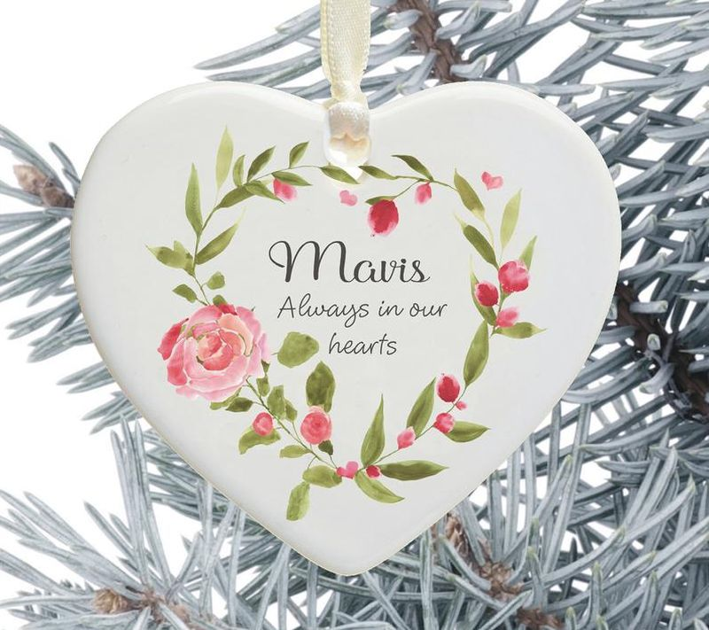 Personalized Holiday tree Decorations from Christmas Keepsake