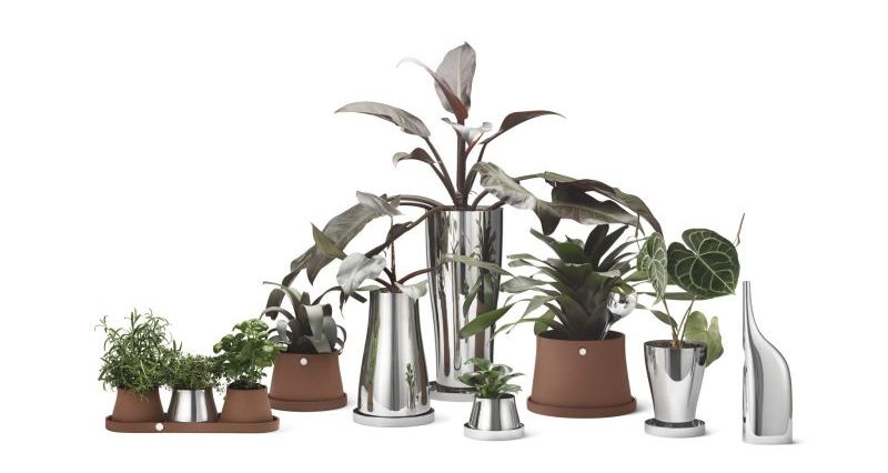 Snøhetta Designs Indoor Planting Accessory Collection for Georg Jensen