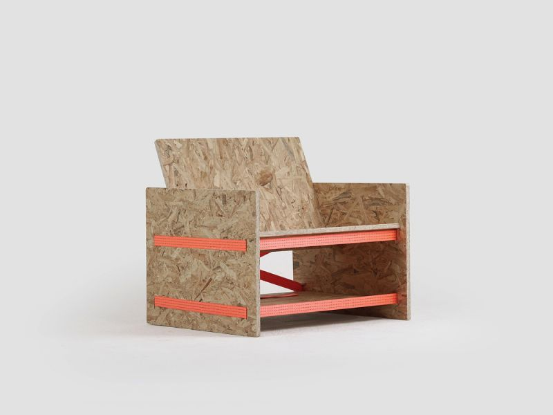 TEMP chair by Joo Ho Young Assembles Without Nails & Tools
