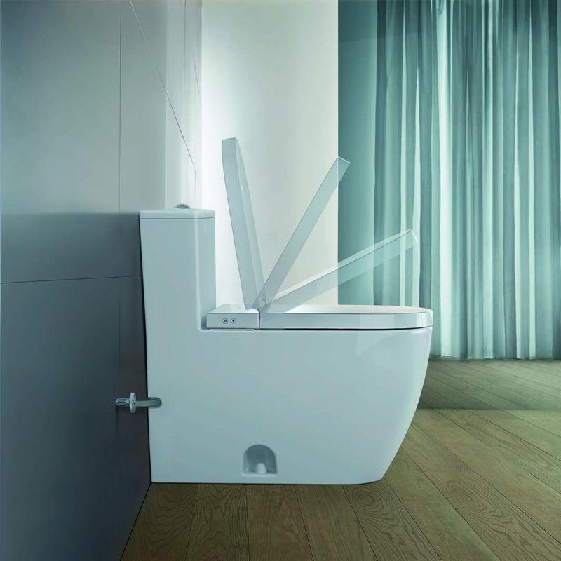 Duravit's New SensoWash Starck f Shower Toilet Ensures Comfort and Hygiene
