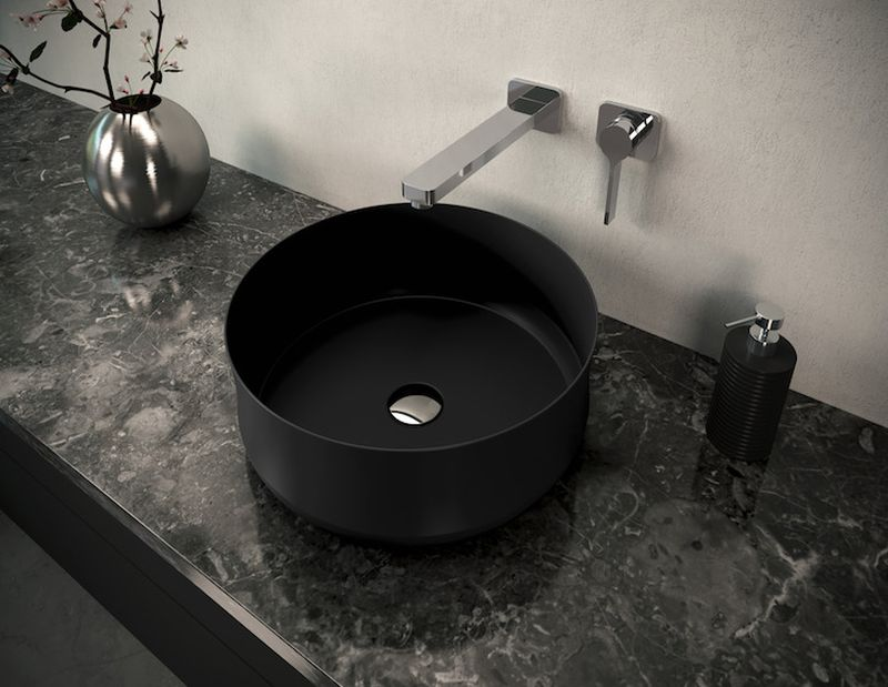 Kaldewei's New Ming Washbasin Bowl is Made from Steel Enamel