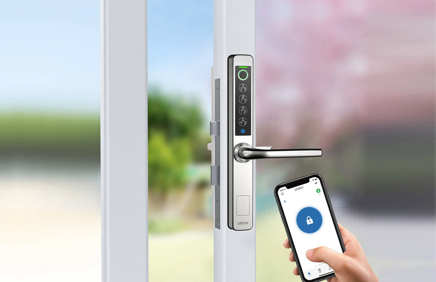 Lockly Exhibits New Smart Door Locks at CES 2021