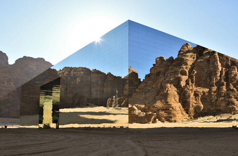 Maraya Concert Hall in Saudi Arabia is Largest Mirrored Building in World