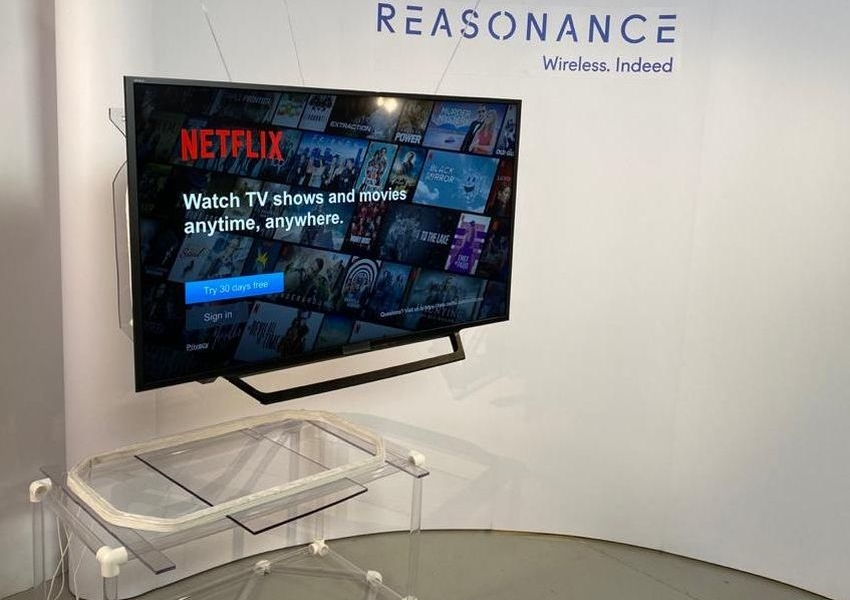 REASONANCE Tech Showcases Wireless TV at CES 2021