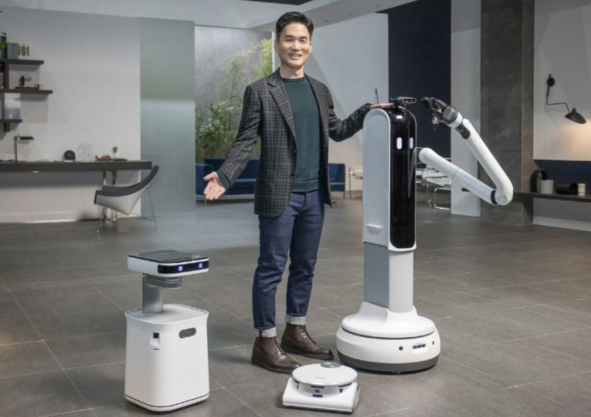 Samsung Unveils New AI-Powered Robots for Domestic Use at CES 2021