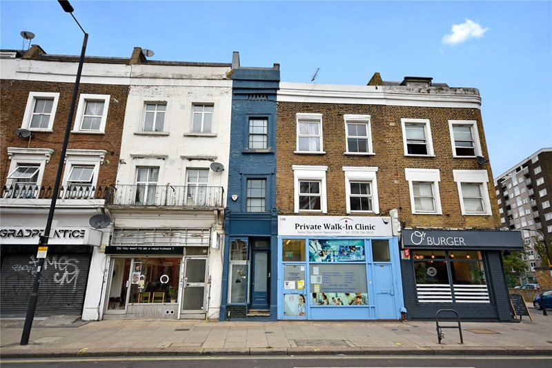 Thinnest House in London is Up for Sale for About $1.3 Million