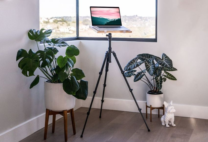 Tripod Standing Desk by Intension Design is Ideal for Work from Home