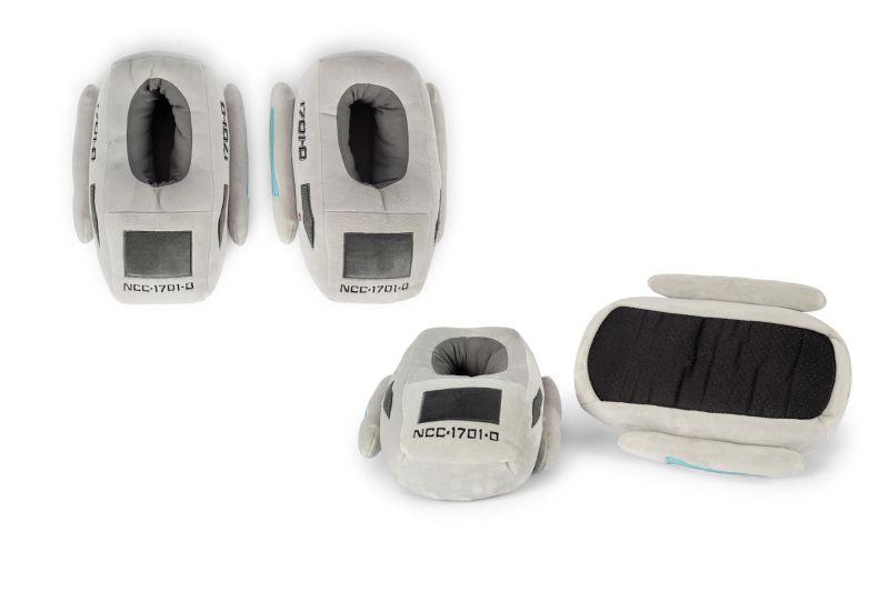 Ukonic Launches The Next gen Shuttlecraft Slippers for Star Trek Fans