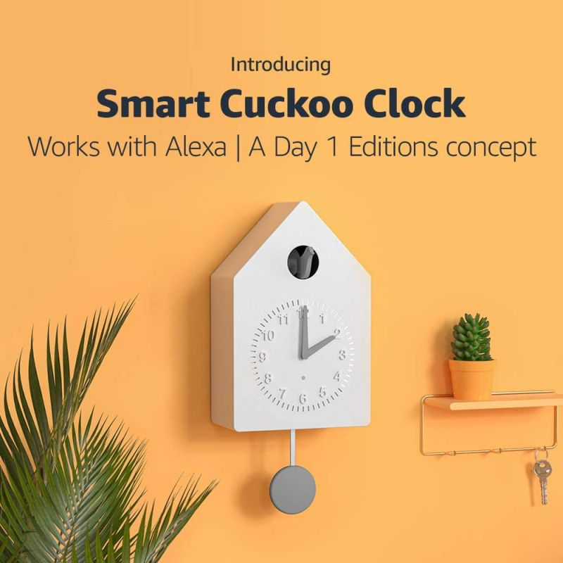 Amazon Plans to Create a Smart Cuckoo Clock for You