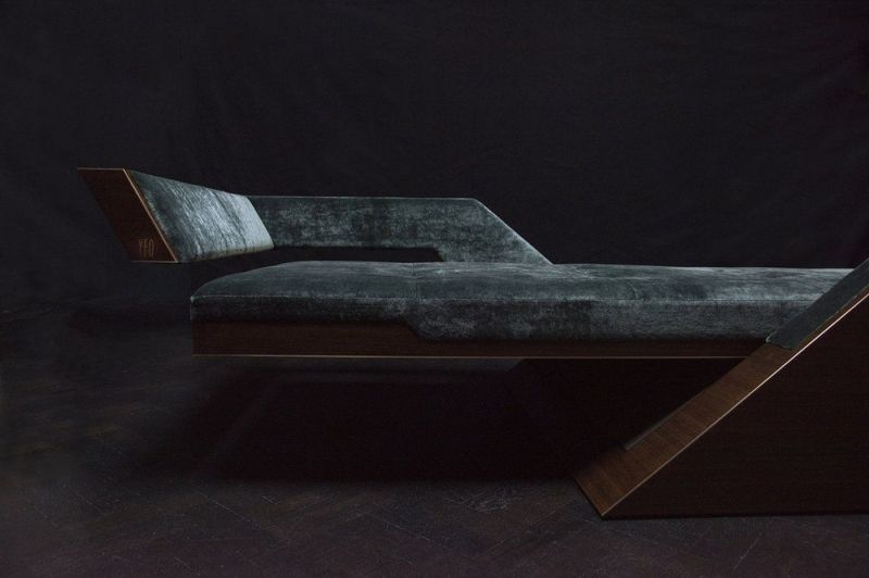 Bespoke Daybed by David Linley in Collaboration with Jonathan Yeo