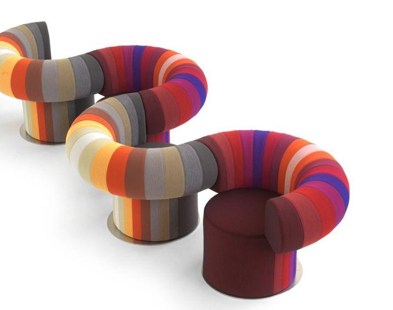 Big Talk Modular Lounge Chair Designed by Adam Goodrum for Bla Station