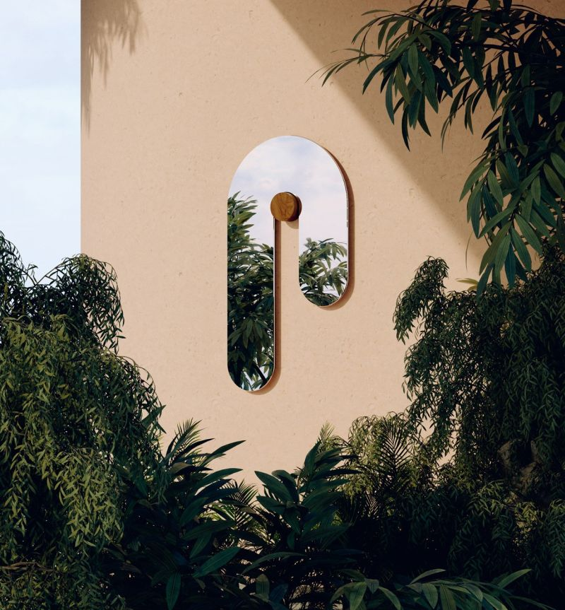 Bower Studios' Creatively Shaped Melt Mirrors are Real Statement Pieces