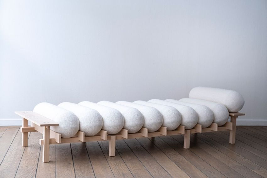 Dag Daybed by Teresa Lundmark and Gustav Winsth for Gärsnäs