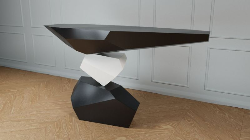 Duffy London New Serenity Console Table Appears to Defy Gravity