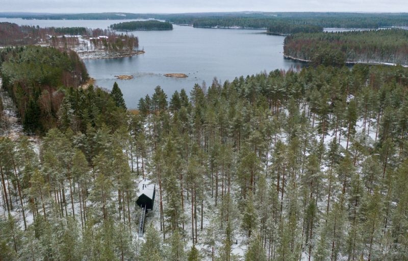 Niliaitta Prototype Forest Cabin by Studio Puisto for Kivijärvi Resort