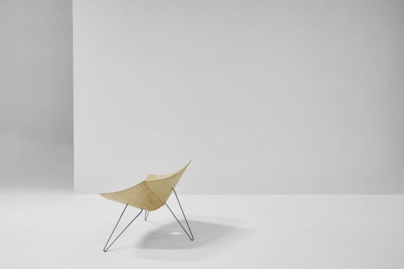 Patkau Architects Design Twist Chair for Nienkämper