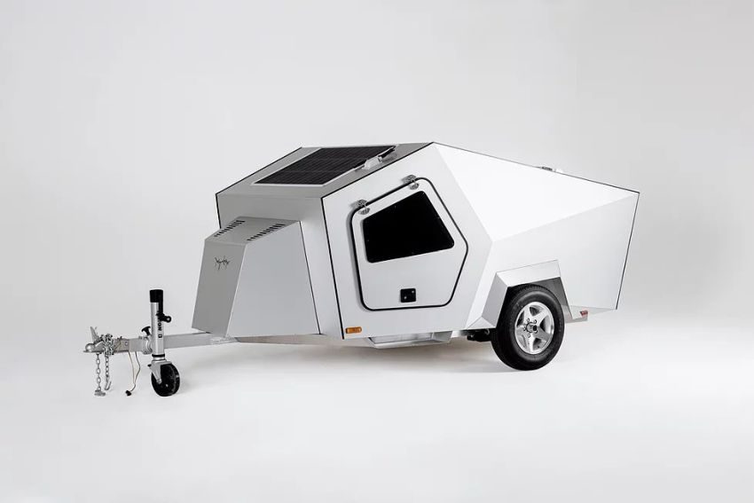 Polydrops 2021 P17A Trailer is Designed to be Towed by Electric Vehicles