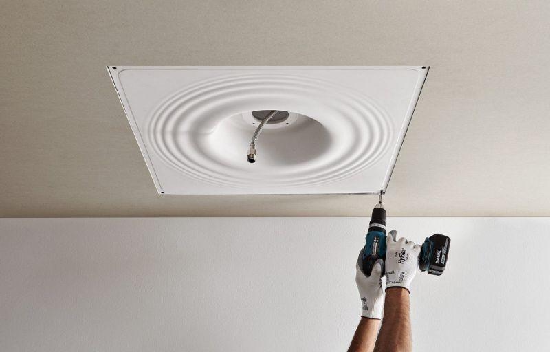 Raindrop Ceiling-Embedded Showerhead from Antonio Lupi Design