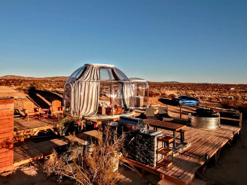This Bubble Tent in Joshua Tree, California is Perfect for Stargazing