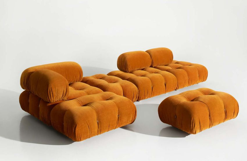 B&B Italia Re-Issues Camaleonda Modular Sofa by Mario Bellini