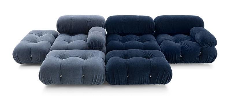B&B Italia Re-Issues Camaleonda Modular Sofa by Mario Bellini