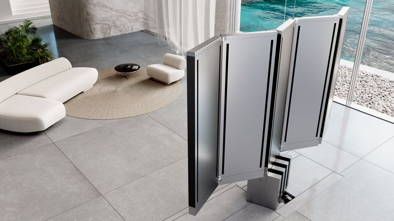 C SEED Unveils World's First Folding 165-inch MicroLED TV