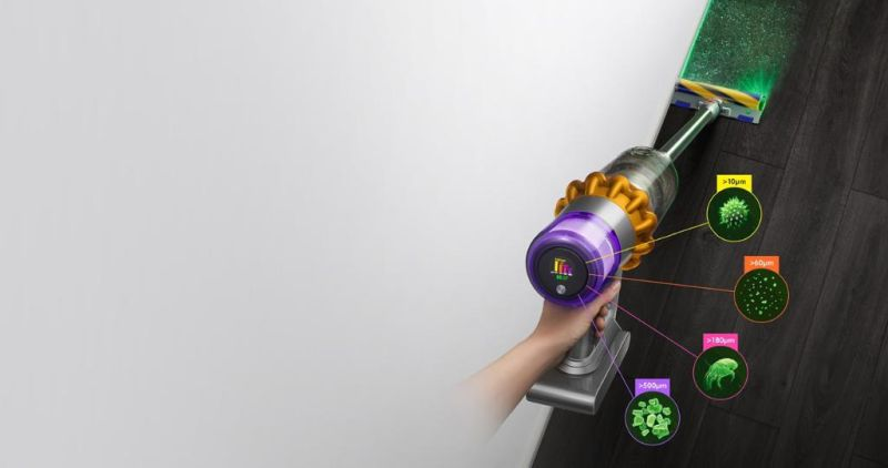 Dyson Launches V15 Detect Cordless Vacuum Cleaner