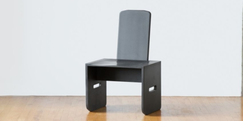 EVOLVE Flat-Pack Chair is made of 100-Percent Recycled and Recyclable Plastic
