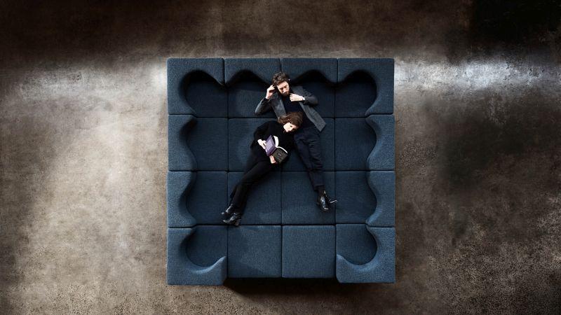 Soufflé Modular Sofa Bed Facilitates Work-From-Home