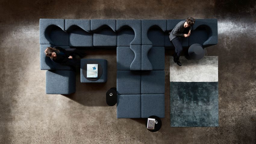 Soufflé Modular Sofa Bed Facilitates Work-From-Home